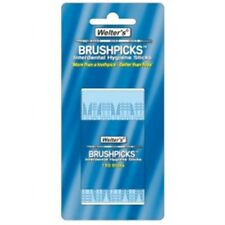 Spazzola interdentali WELTERS BASTONI-igiene PICK brushpicks 150 scatola di plastica