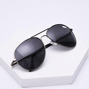 Large Pilot Polarized Bifocal Reading Glasses Double Bridge Sunglasses Magnifier