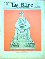 Le RIRE N°390 du 26 Avril 1902 (avec supplément) M. François COPPEE