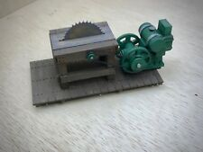 RTR - Gasoline Powered Table Saw G Scale Custom Designed/Built Model Railroad