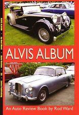 Book - Alvis Album - TE21 TD21 Saracen TB21 TA14 Speed 25 Military - Auto Review
