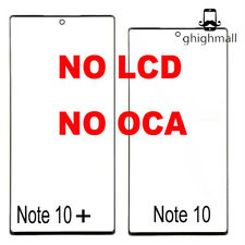 OEM Samsung Galaxy Note 10/Note 10+  Replacement Front Outer Screen Glass Len