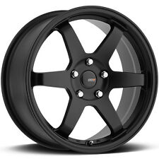 4-NEW Big Bang Sport BSP-61 17x7.5 5x114.3/5x120 +40mm Satin Black Wheels Rims