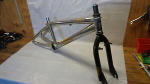 "HARO F3Series Chrome BMX 11"" Bike Frame & FORK for 20"" Wheels (F0316B-1)"