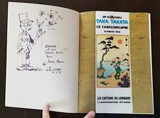 TAKA TAKATA N° 6: LE CAMEOLEOSCAPHE + dessin original en page de garde E.O. 77