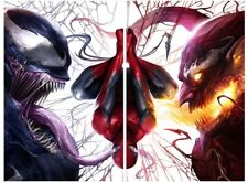 "AMAZING SPIDERMAN 800 VENOM 1 MIDTOWN MATTINA VARIANT RED GOBLIN SET NM ""VIRGIN"""