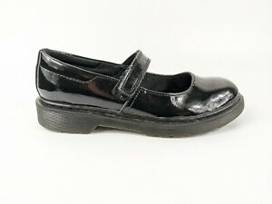Dr Martens Maccy Black Patent Leather Mary Jane Shoes Uk 3 Eu 36