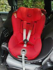 Cybex Sirona S i-Size Group 0/+1 Car Seat in Rebel Red 360 Swivel +newborn inlay