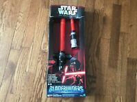 Star Wars The Force Awakens Kylo Ren Deluxe Electronic Lightsaber - Damaged Box