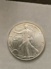 1996 American Silver Eagle One Dollar S$1 Uncirculated Coin