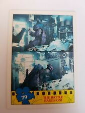 TOPPS 1990 TEENAGE MUTANT NINJA TURTLES MOVIE TRADING CARD # 79