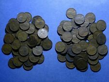 Two rolls of 1939-S Lincoln cents  circulated