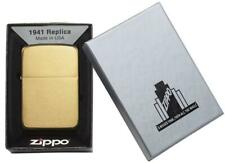 Zippo Lighter 1941 Vintage Replica Brass Genuine Zippo Windproof Lighter