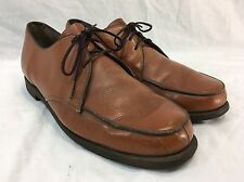 VINTAGE USA HUSH PUPPIES Mens 10.5 Shoes Casual Dress LACE UP BROWN