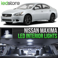 White LED Lights Interior Kit Package Bulbs For 2009-2014 Nissan Maxima