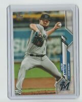 2020 Topps Series 1 CALEB SMITH Advanced Stat Parallel 095/300 Marlins #122