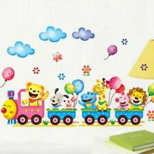 Animals DIY Train Wall Sticker for Kids Baby Room Nursery Home Decor Art Mbyss