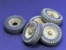 Resicast 1/35 Chevrolet LRDG 30 cwt Firestone Wheels (5 pieces) (Tamiya) 352341