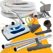 Central Vacuum Electric 30 ft Hose Powerhead Attachment Cleaning kit