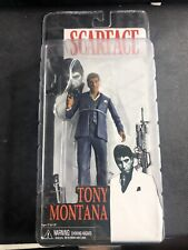 NECA Scarface Tony Montana Blue Suit Action Figure NEW IN BOX
