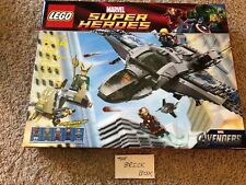 LEGO Marvel Super Heroes Avengers Quinjet Aerial Battle set 6869 NEW & SEALED