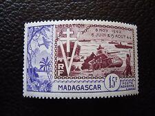 MADAGASCAR - timbre yvert et tellier aerien n° 74 n* (A01) stamp