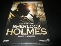 """COFFRET 3 DVD NEUF """"LES RIVAUX DE SHERLOCK HOLMES - SAISON 1, VOLUME 2"""""""