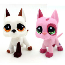 Littlest Pet Shop Lps 2598 750 Kids Pink Great Dane Dog Puppy Collection 2* Gift