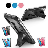Kicks-tand Cell Phone Case For Samsung Galaxy A20 Galaxy A70 Shockproof Cover