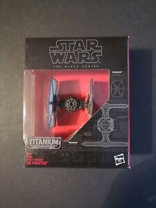 Star Wars The Black Series Titanium Series - First Order Tie Fighter