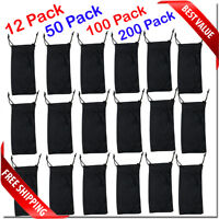 Wholesale sunglass pouches all black carry case sunglass BRAND NEW bulk lot