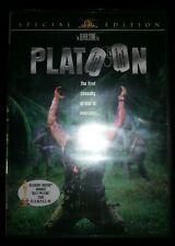 Platoon Dvd Widescreen Special Edition Charlie Sheen Oliver Stone Sealed New