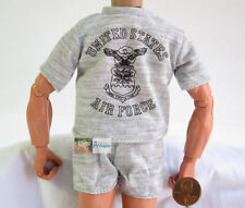 US 1:6 Action-Figur Modell United States Luftwaffe Training T-Shirt Shorts DA72