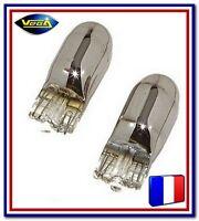 2 Ampoules Vega® Clignotants Oranges Chromées WY5W W5W T10 12396 12V
