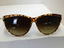 LIZ CLAIBORNE WOMANS SUNGLASSES Made in ITALY STYLE 10170 TORTISE SHELL Black