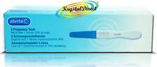 Alvita 2 Pregnancy Pregnant Test Testing Stick