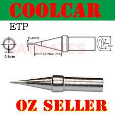 Solder Soldering Station Iron Tip ETP for Weller EC-1201AFE EX1201AFE WCC-101 OZ