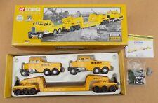 CORGI 2 Scammell Constructors & 24 Wheel Girder Trailer (Boxed) 17702