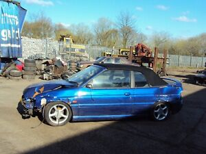 1997 Ford Escort Ghia Convertible 16v Mk6, 1.8 Petrol, Spares/Parts, Time Clock