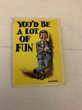 1965 Topps Insults Cards #24