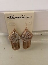 $42,Kenneth Cole Fringe WorthyWoven Faceted-Bead Earrings #36F