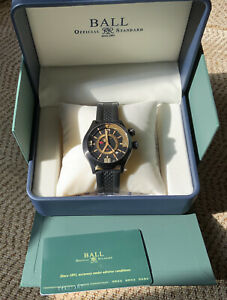 Ball Engineer II Master Diver GMT Watch DLC PVD Tritium Brand New + Box & Papers