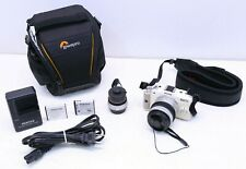 Pentax Q 12.4MP Digital Camera w/ SMC f/2.8-4.5 5-15mm Lens & 3.2mm Fish Eye