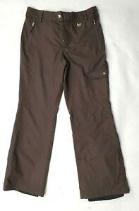 FREE COUNTRY Women's brown ski pants snow pants Size Medium (32x30)