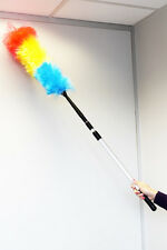 10 X Extendable duster with metal pole 1.5m in length