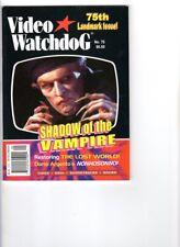 WoW! Video Watchdog #75 Shadow Of The Vampire! Nosferatu! Lost World! Nightwatch
