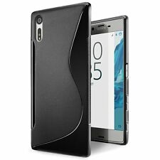 S Curve SOFT GEL TPU Case Cover For Sony Xperia XZ | XZ Premium
