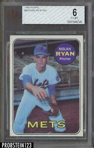 1969 Topps #533 Nolan Ryan New York Mets HOF BVG 6 EX-MT