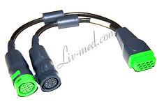 Nuevo-electrocardiograma-ECG-Monitor - cable - 2-especializada-corometrics - 2 times cable-New