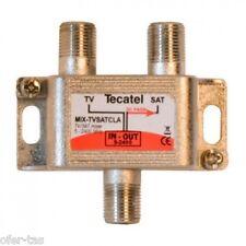 COMBINADOR SEPARADOR SEÑAL SATELITE TDT DIPLEXOR - MEZCLADOR VHF y UHF TDT SAT.